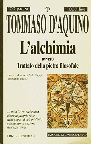 L'alchimia ovvero Trattato della pietra filosofale: n/a
