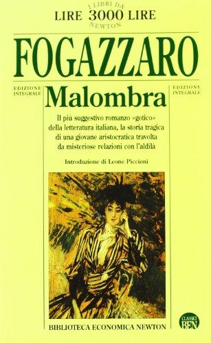 9788881835751: Malombra (Biblioteca economica Newton)