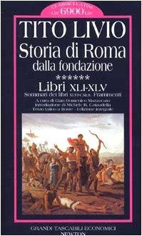 Storia di Roma dalla fondazione ****** :Libri: n/a