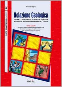 9788882073602: Relazione geologica. Con CD-ROM