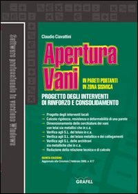 9788882074487: Apertura vani in pareti portanti in zona sismica. Con CD-ROM