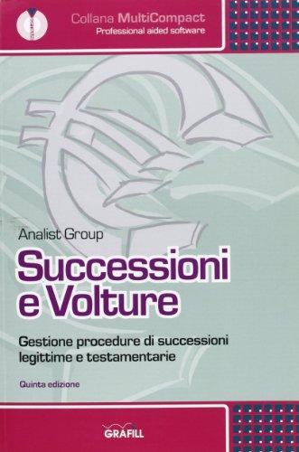 9788882074739: Successioni e volture. Con CD-ROM