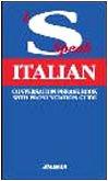 9788882111656: I Speak Italian: Conversation Phrase Book with Pronunciation Guide