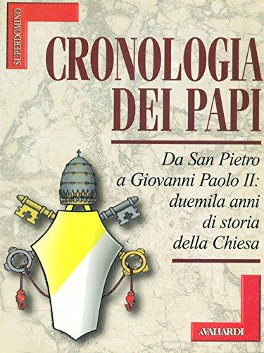 9788882113841: Cronologia dei papi (Superdomino)