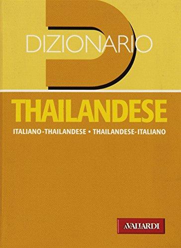 9788882117627: Dizionario thailandese. Italiano-thailandese. Thailandese-italiano
