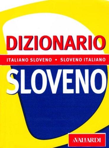 9788882119126: Dizionario sloveno. Italiano-sloveno, sloveno-italiano