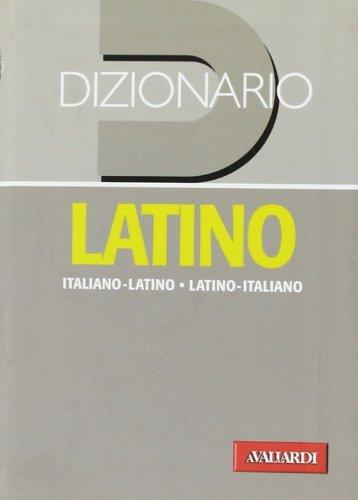9788882119782: Dizionario latino. Italiano-latino, latino-italiano