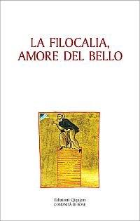 9788882271992: La filocalia, amore del bello