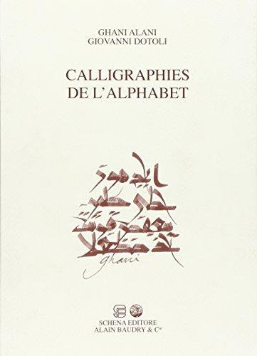 9788882298289: Challigraphies de l'alphabet
