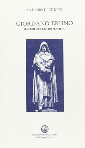 9788882314590: Giordano Bruno (Profili di martiri meridionali)