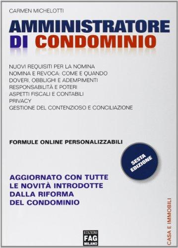 9788882339630: Amministratore di condominio