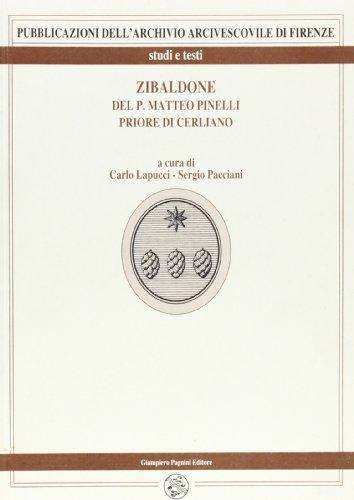 Zibaldone.: Pinelli,M. priore di Cerliano (1577-1669).