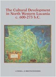 9788882651947: The Cultural Development in North Western Lucania c 600-273 BC (Analecta Romana Instituti Danici. Supplementa. (L'Erma))