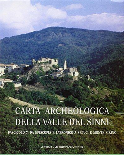 Carta archeologica della Valle del Sinni Vol: Quilici, Lorenzo