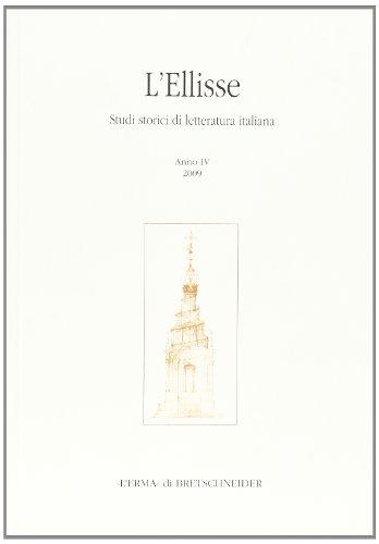 L Ellisse. Studi storici di letteratura italiana: Maurizio Campanelli, Emilio