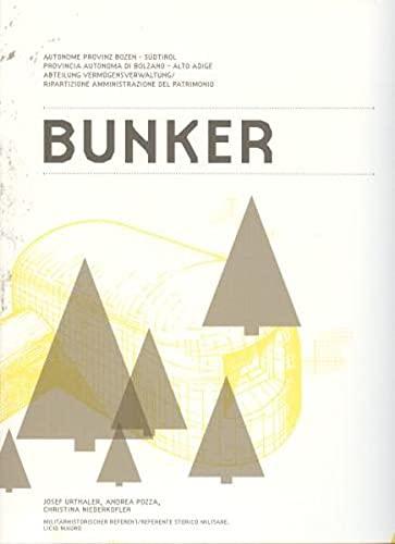 9788882663926: Bunker