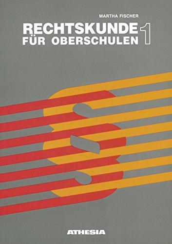 9788882663933: Rechtskunde 1 für Oberschule. Per la Scuola media