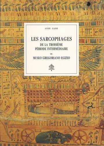 9788882712006: Les sarcophages de la troisième période intermédiare du Museo Gregoriano Egizio