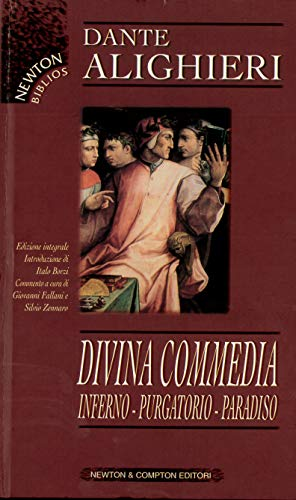 9788882891831: Divina Commedia. Inferno-Purgatorio-Paradiso (Biblioteca economica Newton)