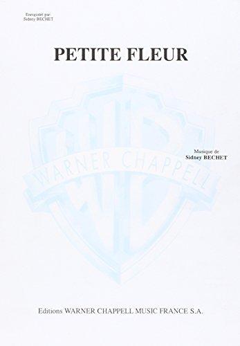 9788882910112: Bechet Sidney Petite Fleur Saxophone & Piano Book