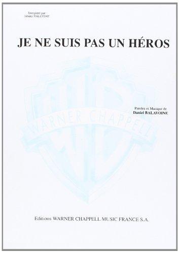 9788882911218: Daniel Balavoine - Johnny Hallyday: Je Ne Suis Pas un Heros