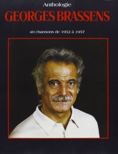 9788882913663: George Brassens Anthologie, 40 chansons de 1952 � 1957