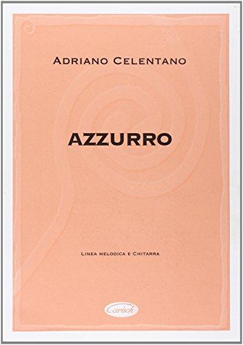 9788882914370: Celentano, Adriano - Azzurro