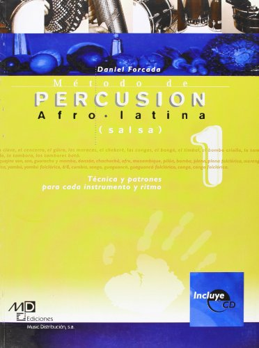 9788882918804: Método de Percusion Afro-Latina (Salsa) (metodo autodidacta)