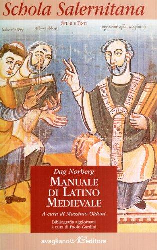 9788883090110: Manuale di latino medievale