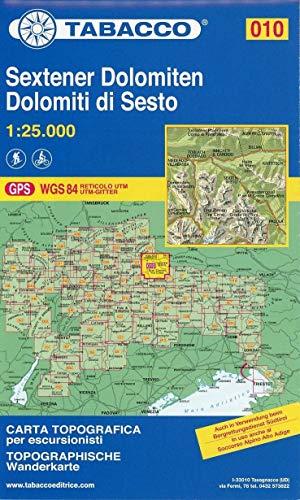 9788883150104: Dolomiti di Sesto 1:25.000