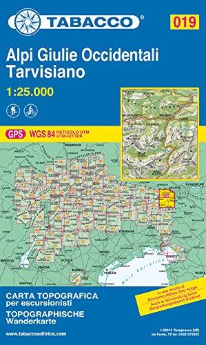 9788883150197: alpi giulie occidentali tarvisiano n 19