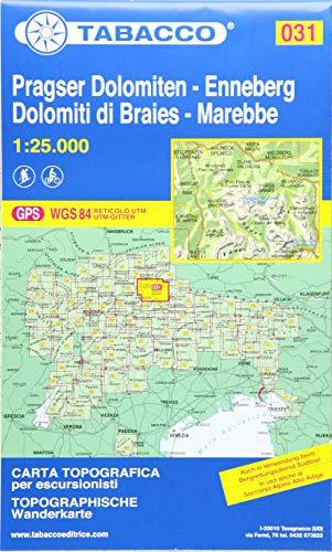 9788883150319: Dolomiti di Braies. Marebbe 1:25.000 (Carte topografiche per escursionisti)
