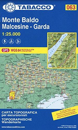 9788883151101: Monte Baldo 063 Malcesine - Garda 2016: TAB.063 (Italian Edition)