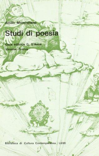 Studi di poesia: Attilio Momigliano