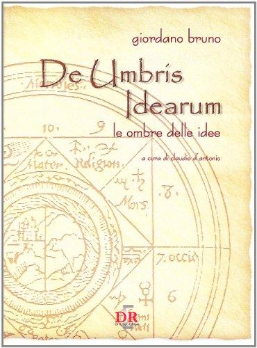 9788883232053: De umbris idearum. Le ombre delle idee