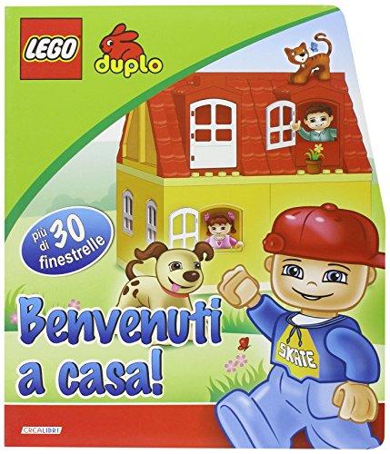 9788883286889: Benvenuti a casa. Le finestrelle. Lego Duplo