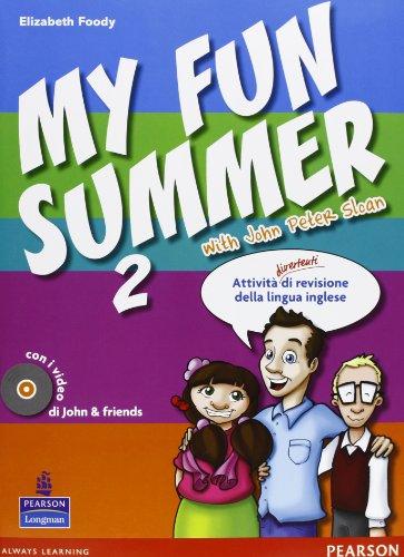9788883390630: My fun summer with John Peter Sloan. Per la Scuola media. Con Multi-ROM. Con espansione online: 2