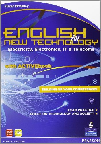 9788883391118: English for new technology. CLIL for english. Per le Scuole superiori. Con espansione online