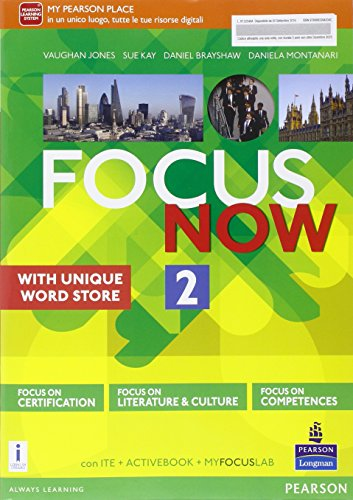 9788883394034: Focus now. Per le Scuole superiori. Con e-book. Con espansione online: 2