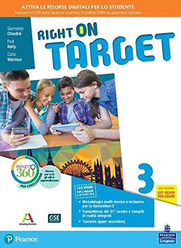 9788883394928: Right on target. Per la Scuola media. Con e-book. Con espansione online (Vol. 3)