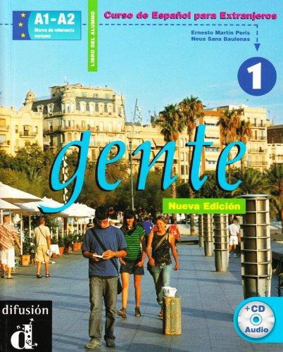 9788883440496: Gente. Curso de Español para extranjeros. Libro del alumno. Con CD Audio: 1