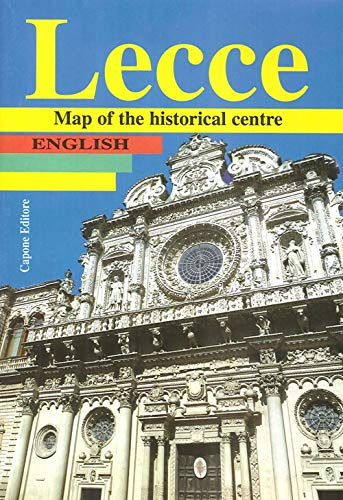 9788883491818: Lecce. Map of the historical centre