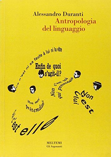 9788883530357: Antropologia del linguaggio (Gli argonauti)
