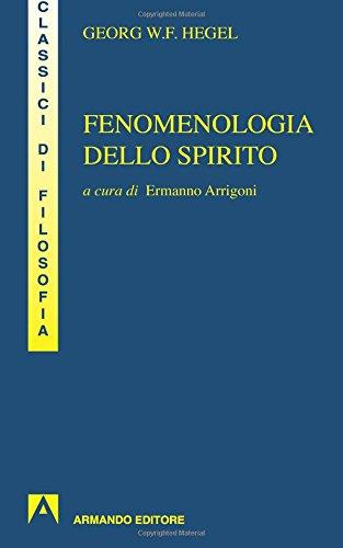 9788883580307: Fenomenologia dello spirito