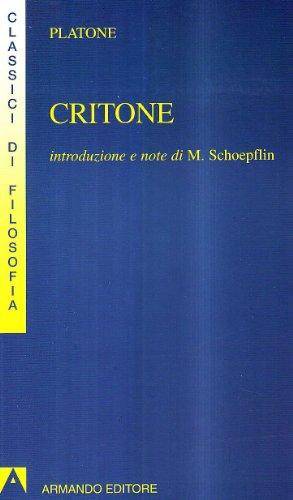 9788883580321: Critone