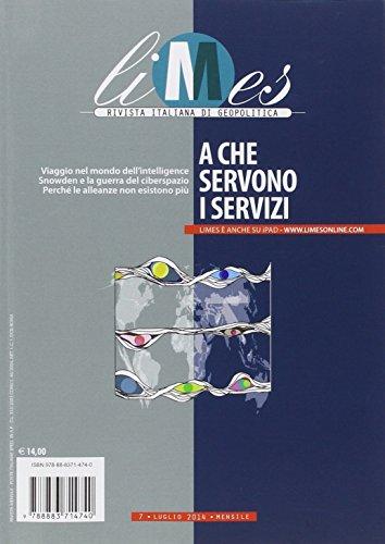9788883714740: Limes. Rivista italiana di geopolitica (2014): 7 (Le guide de L'Espresso)