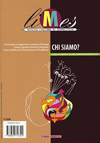 9788883716324: Limes. Rivista italiana di geopolitica (2016)
