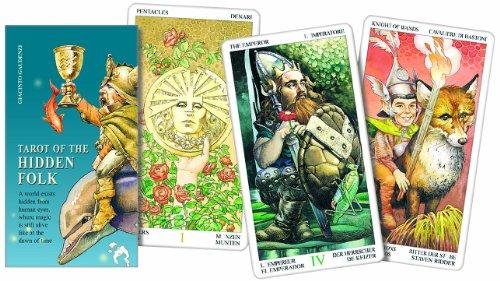 9788883950216: TAROT OF THE HIDDEN FOLK/ENCHANTED TAROT (cards)