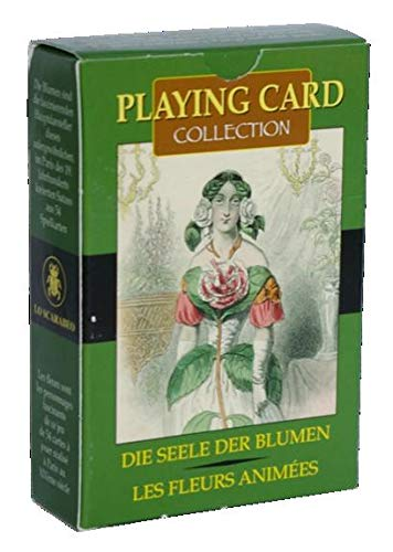 9788883952777: LIVING FLOWERS (Playing cards)