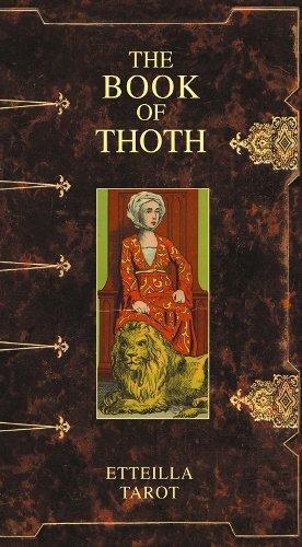 Tarot Etteilla-Livre de Thot Scarabeo